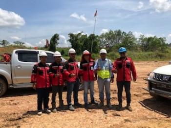 Team Artarental di PT GAM Sangkulirang, Kutai Timur, Kalimantan Timur
