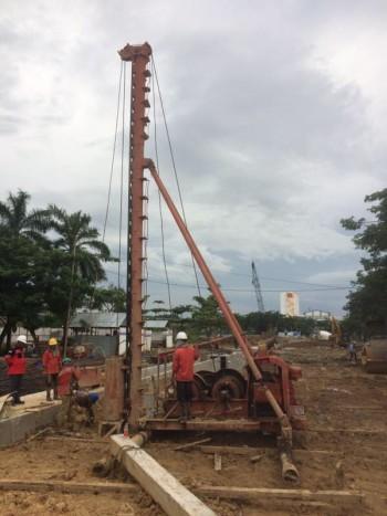 Project jalan Pendekat Jembatan Mahakam IV