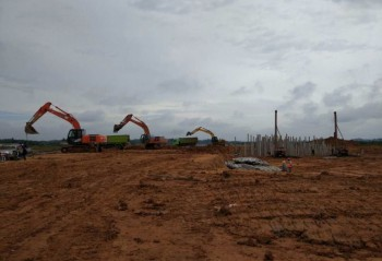 Project Runway Bandara Samarinda Baru, Samarinda, Kaltim.