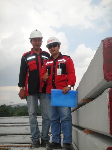 Dedikasi Team untuk Support Produksi PT. Artanusa Beton