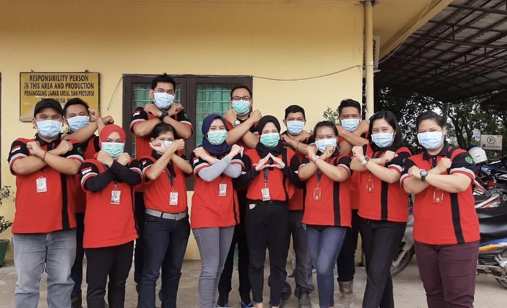 Pencegahan Covid 19 di PT Artanusa Beton, Samarinda