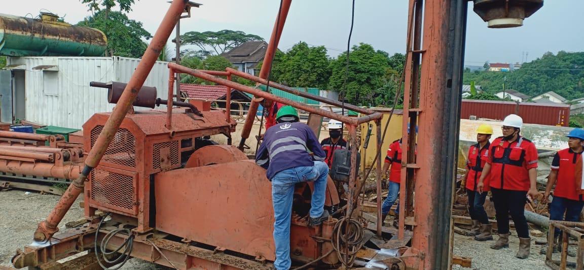 Sertifikasi Alat Pancang Drop Hammer dari PT BKI Persero