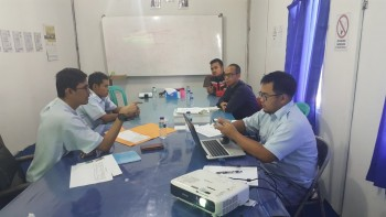 Meeting Kordinasi Project PT. Waskita Karya-Surya Bakti, KSO
